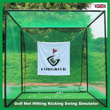 Golf Net Hitting Kicking Swing Simulator Golf Practice Cages Training Aid Driving Range Target
