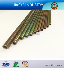 China manufacturer SAE J527 SPCC 4.76*0.7mm color galvanized coated bundy tube used on brake pipe
