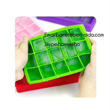 BPA free food garde silicone ice block mould