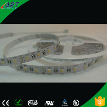 High efficacy 25lm/led rgb led strip light , LM-80 listed approved rgb/rgbw strip lighting