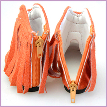 Small Plastic Shoes/Plastic Doll Shoes/Custom Made Costumes for Toys