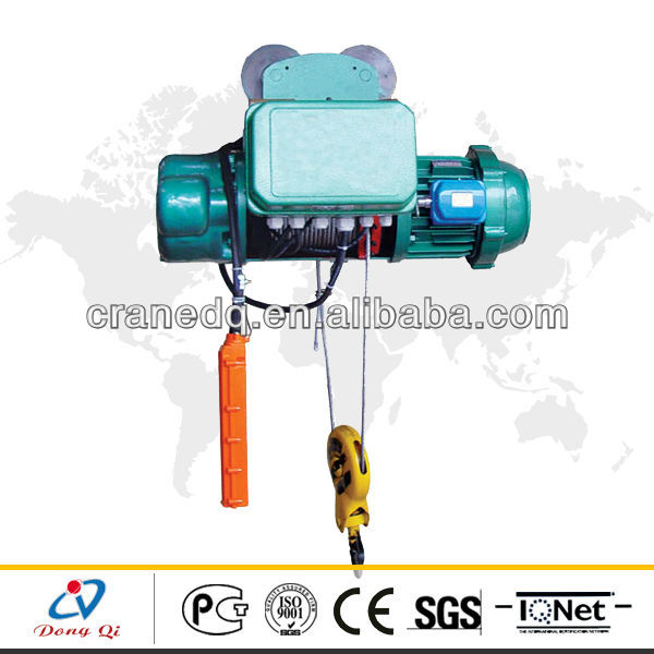 electric power traveling wire rope pulling hoist low price