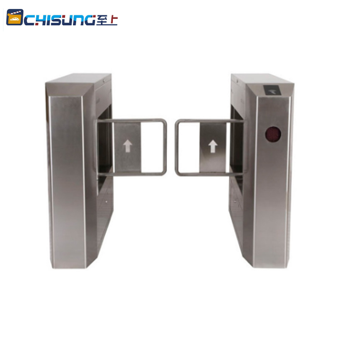 RFID card reader system anti-collision automatic swing gate barrier