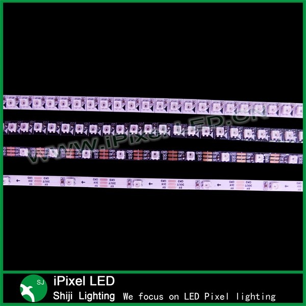 5mm smd3535 sk6812 addressable mini pixel led strips dc5v