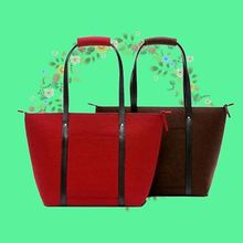 Lightweight felt ladies fashion lunch bags for advertising