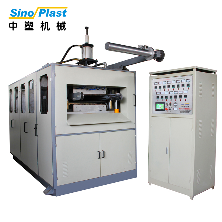 SINOPLAST Machinery  PP PS PET PVC PLA Plastic Cup Thermoforming Machine