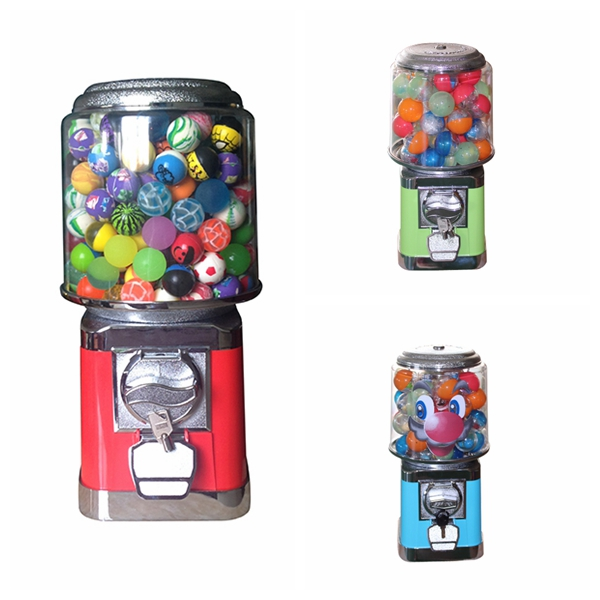 Factory price gumball/ bouncy ball/ candy vending machines used