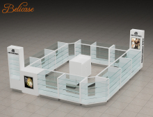 shopping mall kiosk retail shop store furniture glass display showcase