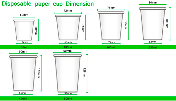 Eco-friendly double wall paper cup with lid