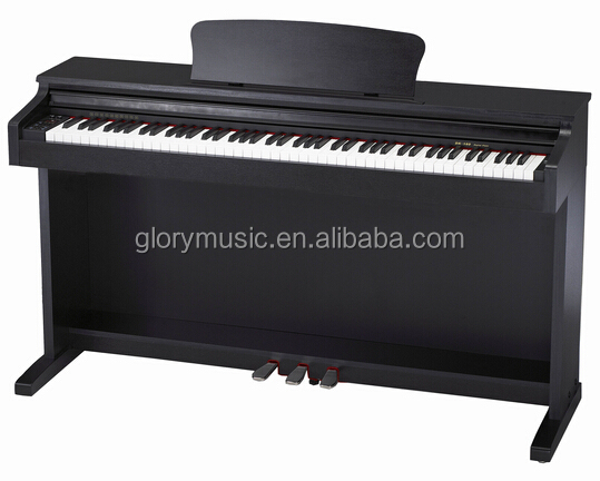 hot sale 88 Keys Digital Piano, Graded Hammer Action Keys With Wooden Stand, Bench, Pedals