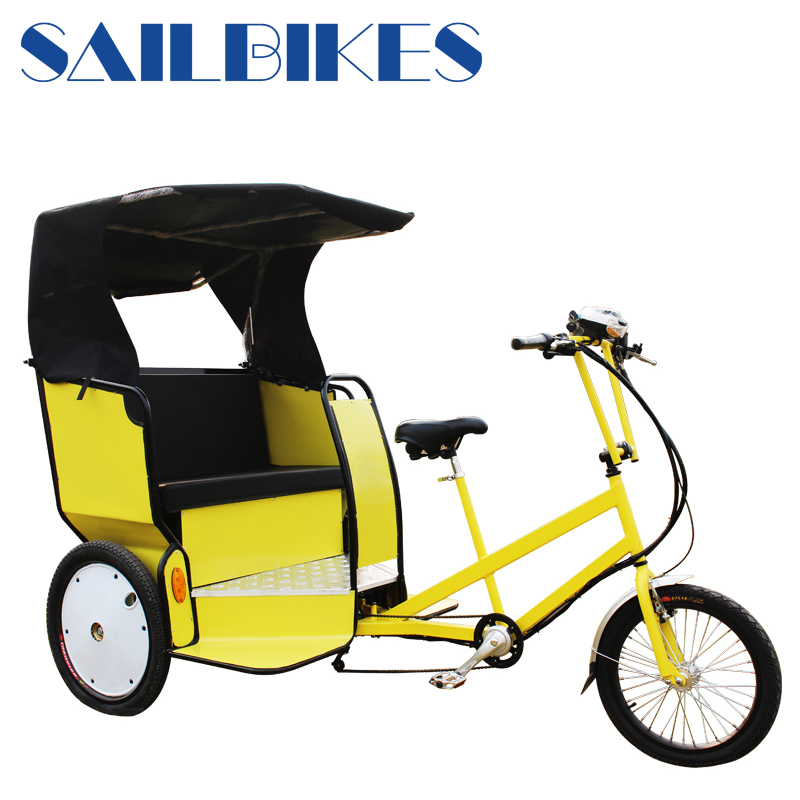 Cheap Electric Pedicab/Electric Taxi/Battery Powered Rickshaw