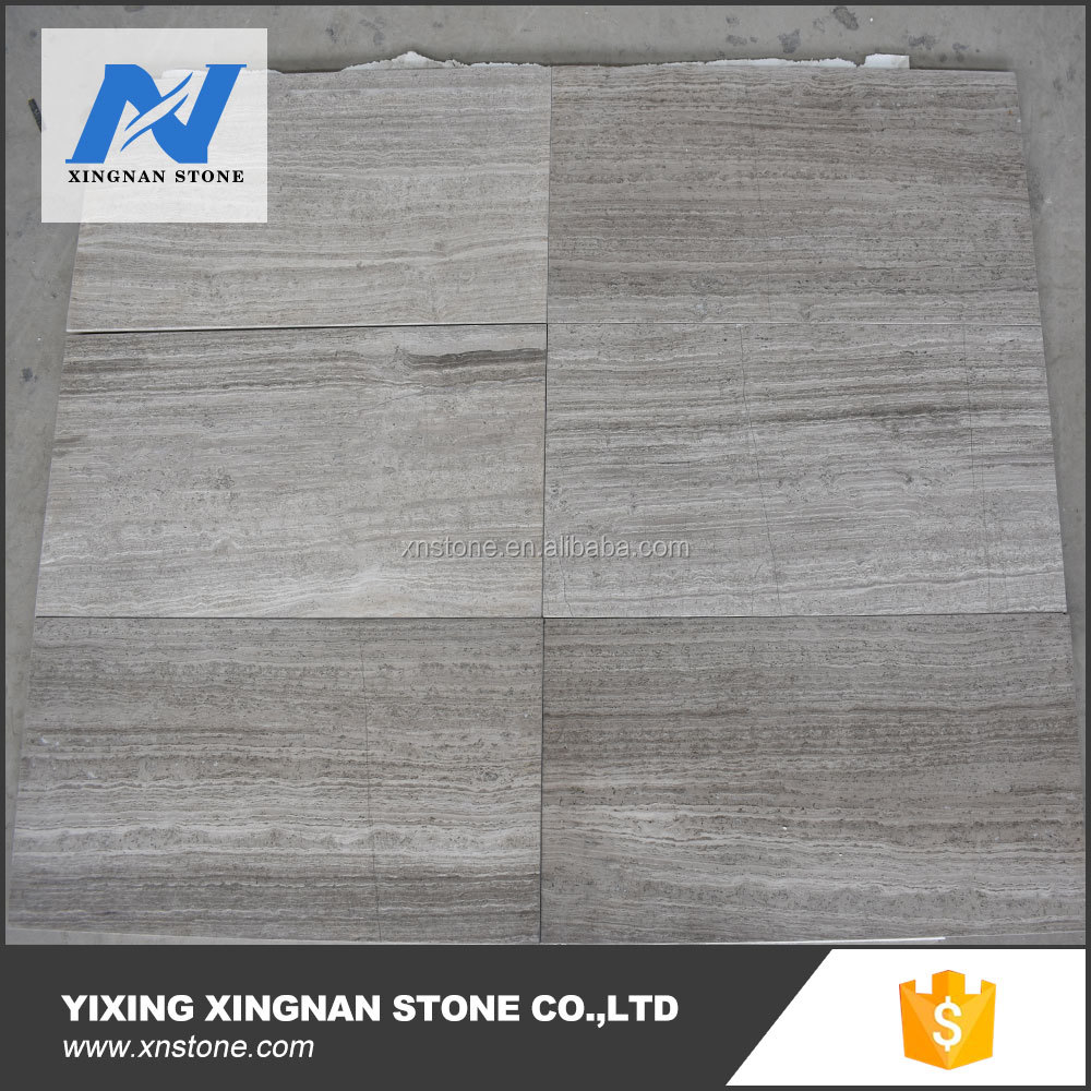 Chinese wooden dark grey marble tiles,raw marble blocks grey wood grain marble