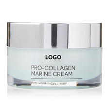 Natural anti wrinkle whitening collagen cream for face