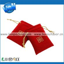 New style best sell synthetic suede small pouch