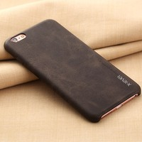 top quality leather phone case for iphone 4 protective case