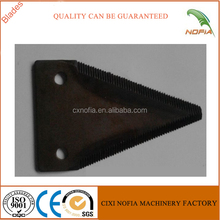 Grain/corn kubota harvesting spare parts cutter blade for sale
