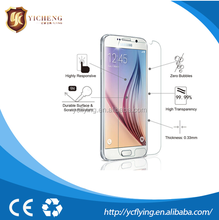 Perfect Fit!! Clear Mirror For samsung galaxy s6 s4 Screen Protector