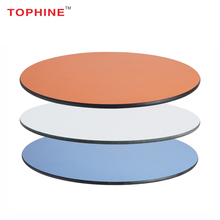 TOPHINE Restaurant Round / Rectangle HPL Compact Laminate Table Top