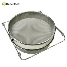 Beekeeping brand name bee honey strainer with double sieve