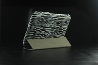 for Samsung tablet leather case zebra line leather case for P3100 P3200 P6200