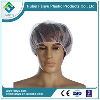medical disposable non-woven nylon hair nets