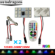 T10 5050 SMD 16 Colors RGB LED Panel Car Auto Interior Reading Map Lamp Bulb Light Dome Festoon Remote Controller Flash Strobe