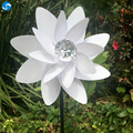 Crystal colorful advertising wedding decoration paper outdoor pinwheel