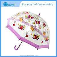 New style Best promotion gifts Unbreakable Automatic transparent umbrella material