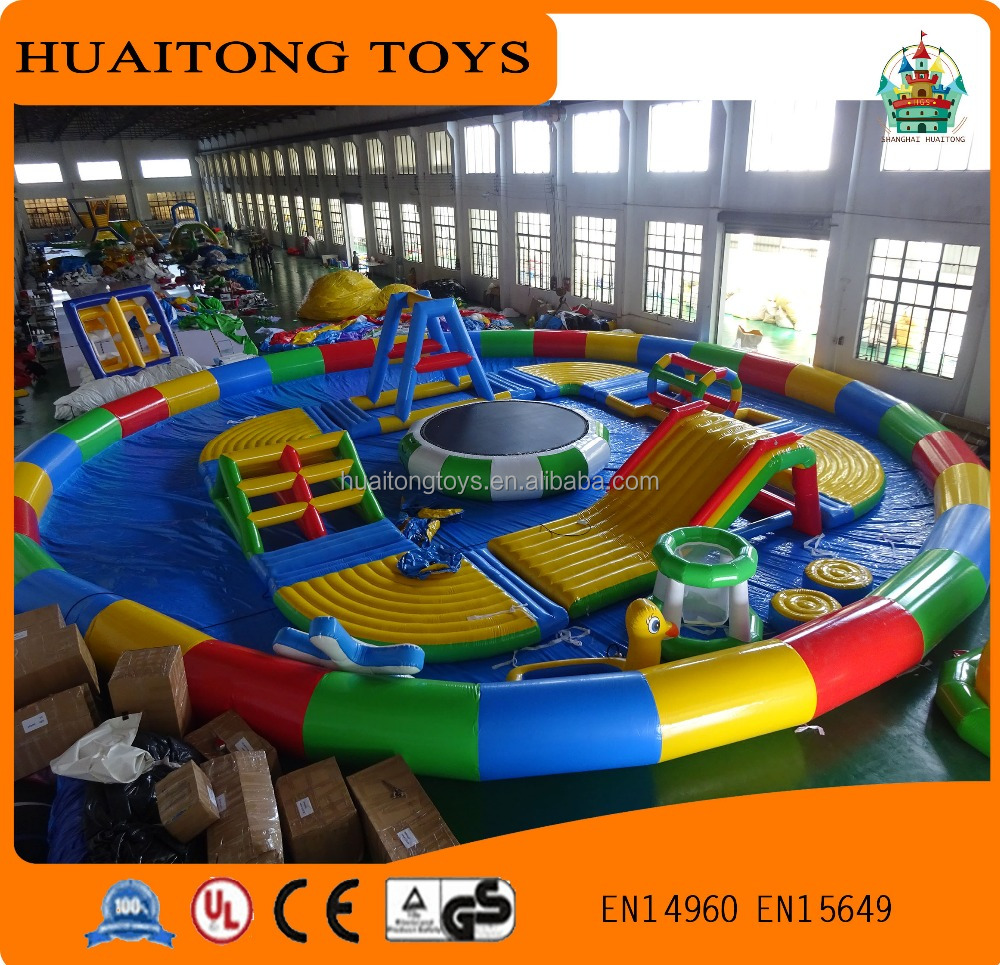 best-selling giant inflatable water park,inflatable floating water park,inflatable aqua park for sale