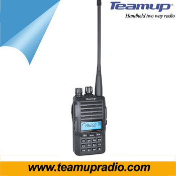 Teamup brand 2018 New arrival 5W VHF radio 136-174Mhz walkie talkie T-838 with scramble function