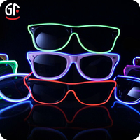 Event & Party Supplies Glow In The Dark Sound Activated Glow Glasses