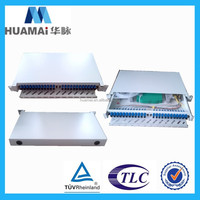 Optical Termination Box, 24 ports, sliding drawer type 19 inch amp 12/24/48 port fiber patch panel