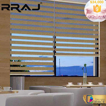 RRAJ Customize Made Zebra Roller Blinds from China