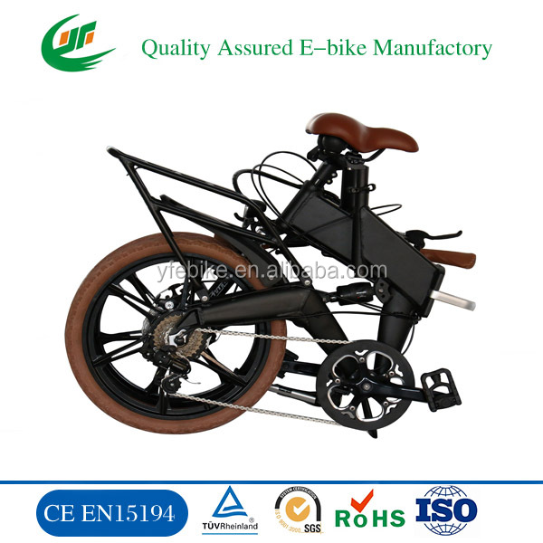 2016new design small cheap hidden battery inside moped fold folding electric bike bicycle electric ebike e bike e-bike (TDN11Z)