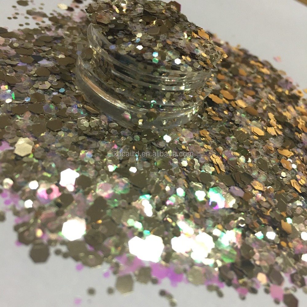 2018 Hot-selling holographic glitter for Christmas <strong>decoration</strong>