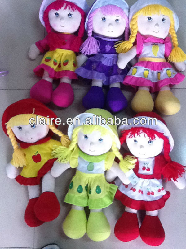 Handmade cloth dolls