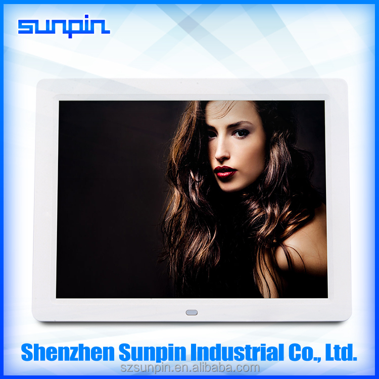 Good quality 10 inch 1080p digital photo frame with mp4 videos download