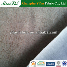 polyester weft suede fabric artificial suede