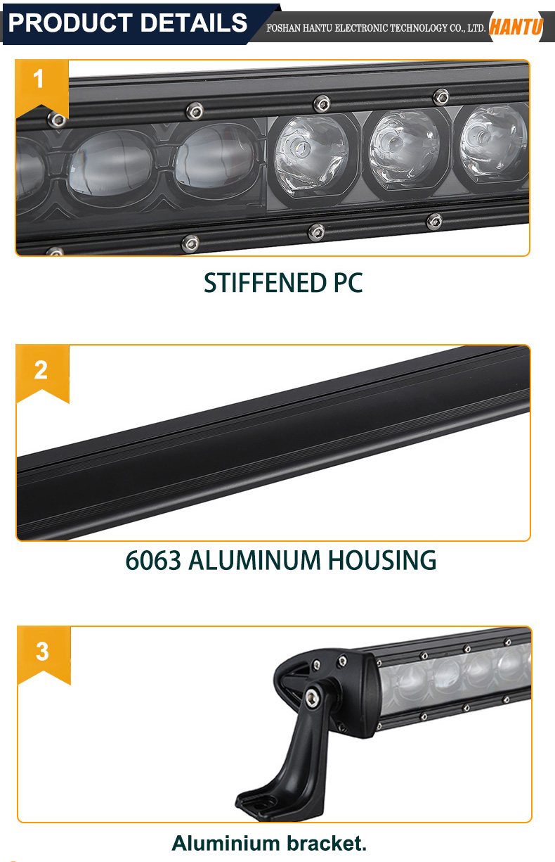 210w slim led light bar 55.74 inch slim led light bar