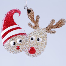 new style Deer and clown Christmas decoration