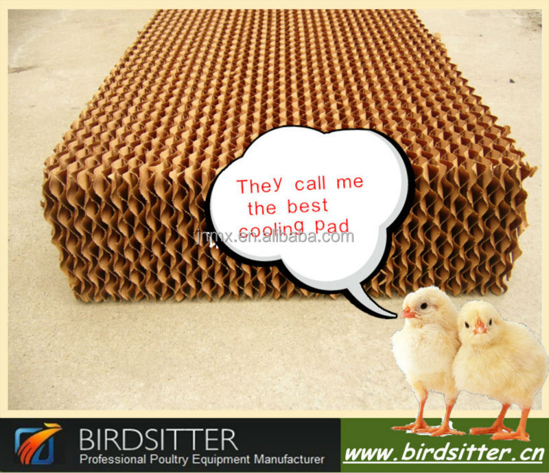 Modern high effective water poultry cooling cell pad