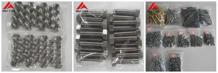 titanium bolts package