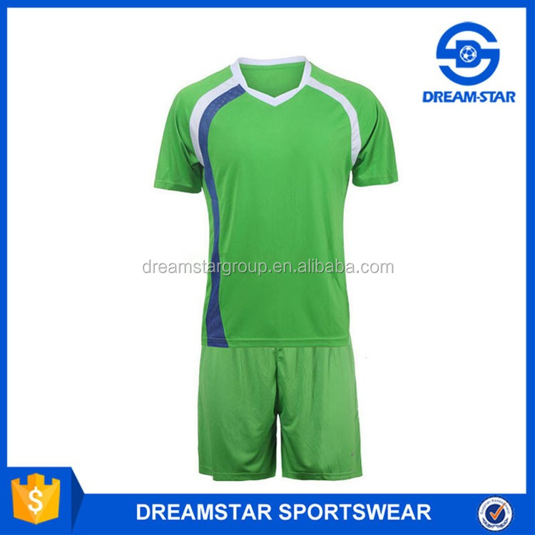 Embroidered Logo Polyester New Soccer Jersey 2018