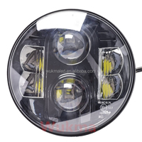 For Jeep headlights, LandRover, Defender, 7 inch LED upgrade,Head Light Set, RHD, E-certified
