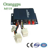 Oranggps car gps tracker with cell phone and online track M518