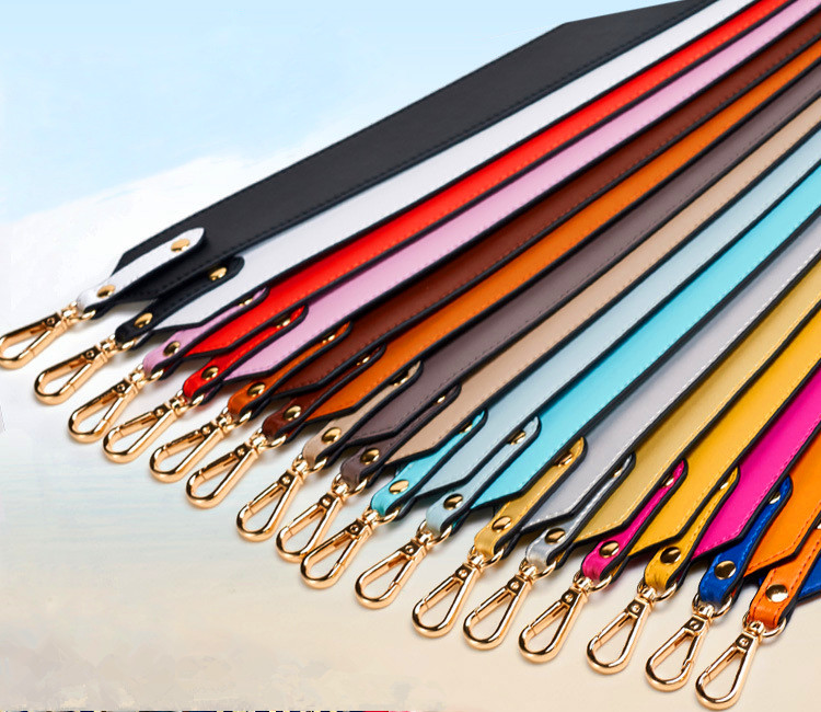 High Quality New Plain Design Belt Fashion HandBag Strap Chic Women Bag Strap With Gold Clasp