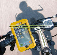 Hot New Products for 2015 Bike Bicycle Handlebar Mount Stand Cell Phone Holders for iPhone 6 Plus 5.5 with Water Resistant Cases