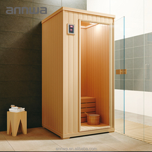 good wooden rectangle person steam shower room/enclosed steam/Sauna shower room