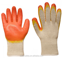 Russian White T/C Lined Red Yellow Latex Rubber Glove china wholesale