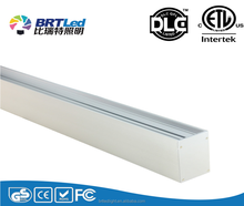 Anodized aluminium Epistar 2835 SMD linear light fixture With ETL DLC terms